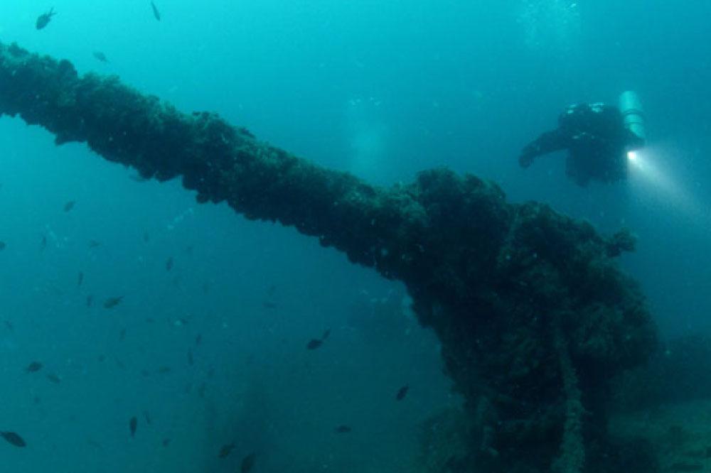 Caretta Diving Specijalnost Ronjenja Na Olupinama