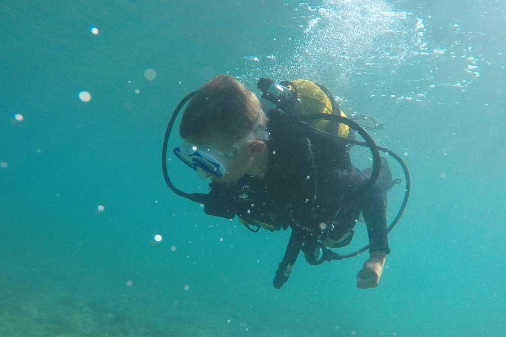 Caretta Diving Tecaj Advanced Adventurer