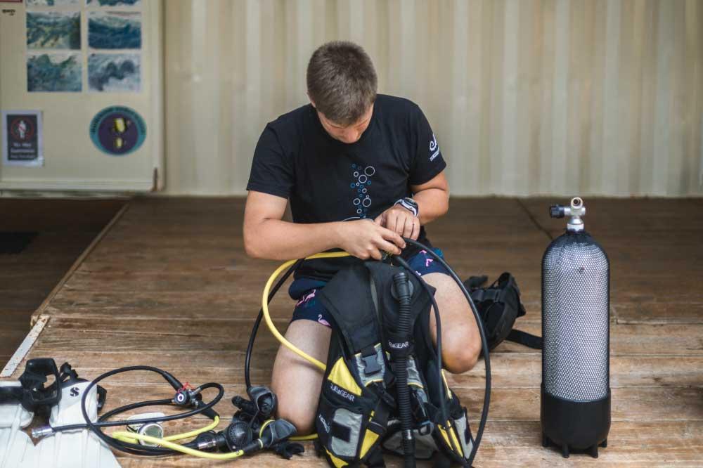 Caretta Diving Tecaj Master Diver
